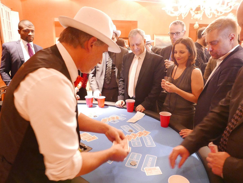 Séminaire Casino Stud poker