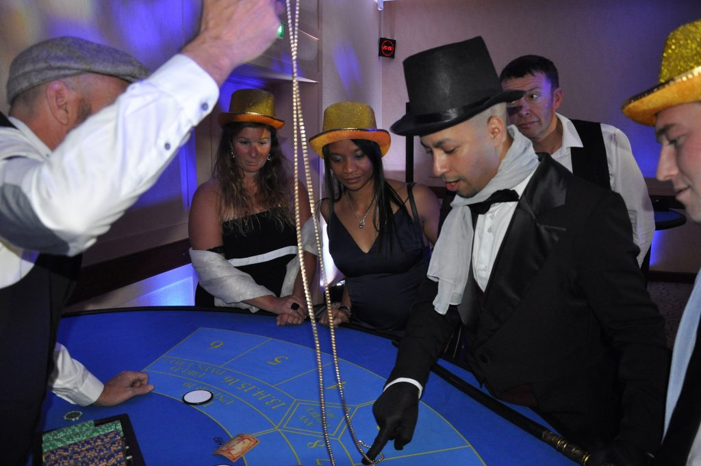 Soirée casino à Annecy